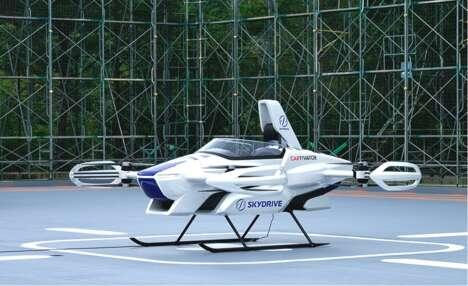 Revolutionary Electric VTOL Vehicles