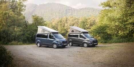 Bathroom-Boasting Camper Vans