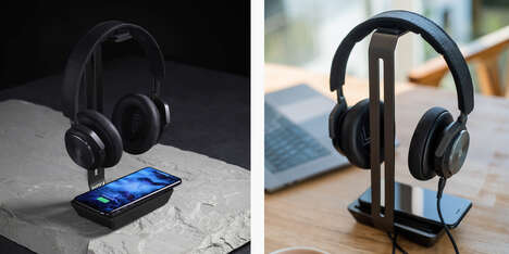 Two-in-One Headphone Stands