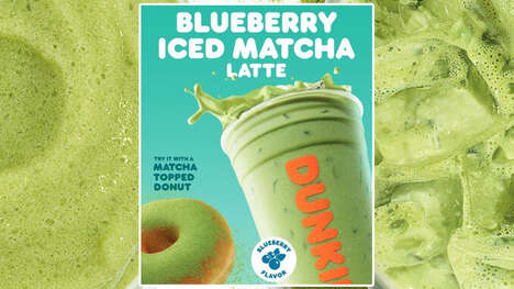 Fruity Matcha Coffee Drinks