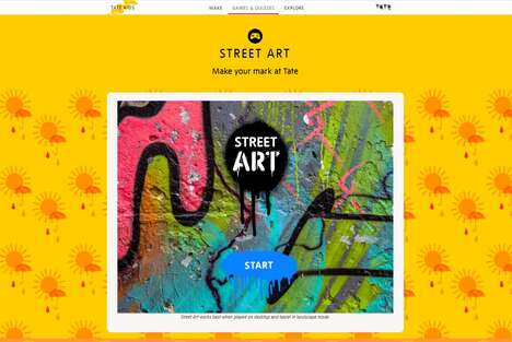 Virtual Street Art Games