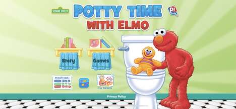 Character-Based Toilet Training Apps