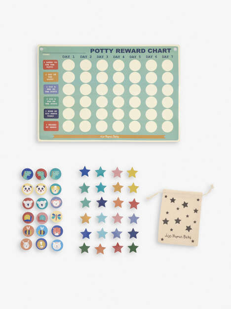 Progress-Tracking Potty Training Charts
