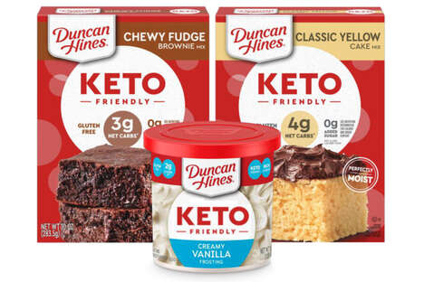 Keto-Friendly Dessert Mixes
