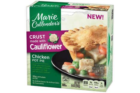 Cauliflower Crust Pot Pies