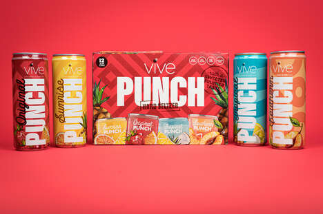 Punch-Flavored Hard Seltzers