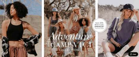 Camp-Inspired Chic Apparel