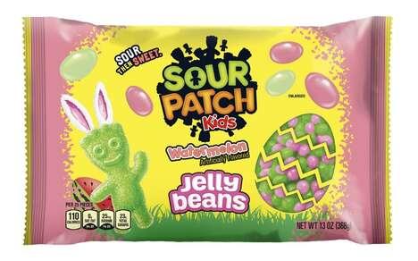 Sour Springtime Jellybeans