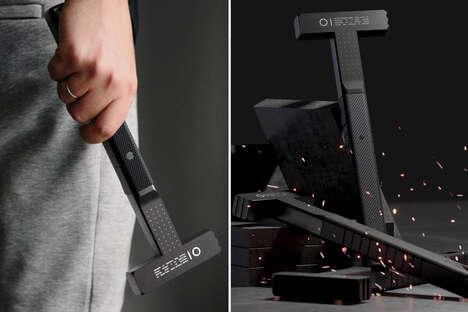 Minimalist Matte Black Tools