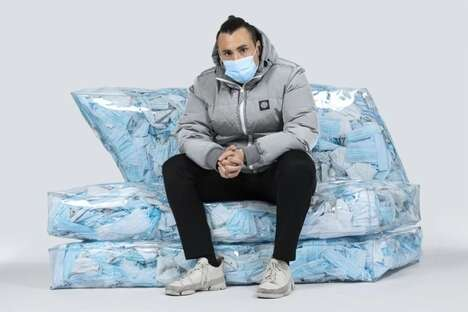 Disposable Mask-Filled Furniture