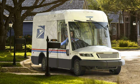 Efficient Mail Carrier Vehicles