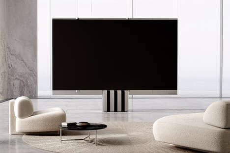 Folding MicroLED TVs