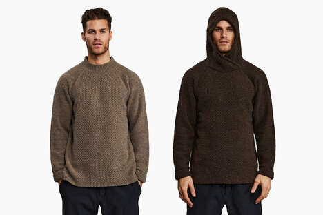 Ruggedly Woolen Garment Collections