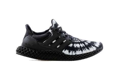 Dark Tie-Dye Performance Sneakers
