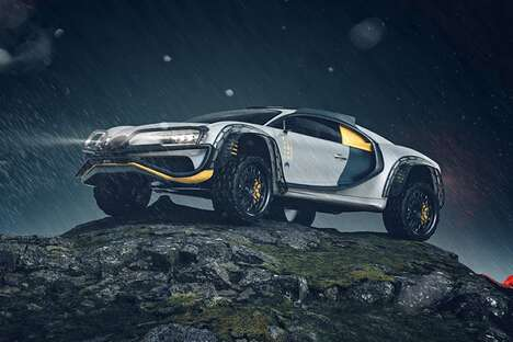 Ruggedized Luxury Sports Cars