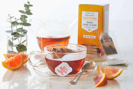 Aromatic Blood Orange Teas