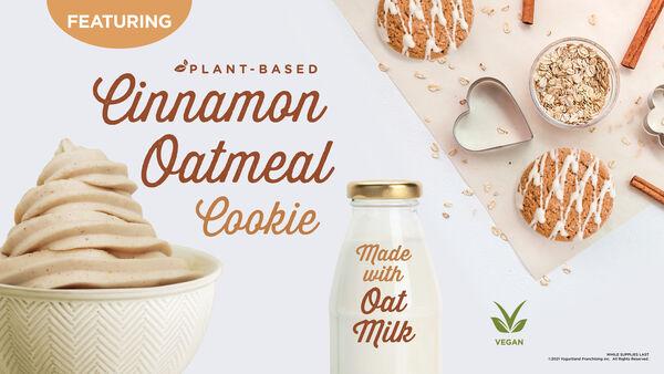 Oat-Based Frozen Yogurt Flavors
