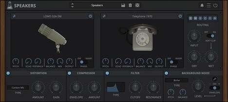 Microphone Speaker Simulations