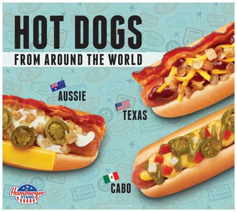 Globally Inspired Hot Dogs