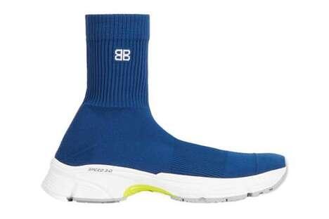 Vibrant Luxurious Sock Shoes