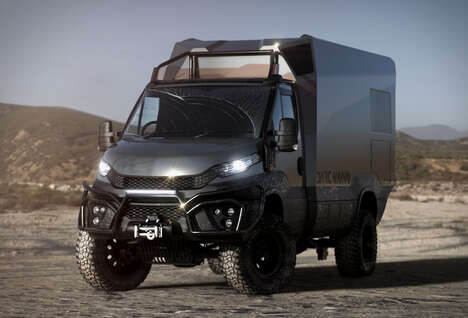 Carbon Fiber-Infused Camping Vehicles