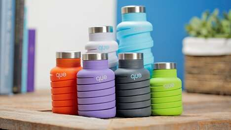 Adjustable Silicone Water Bottles