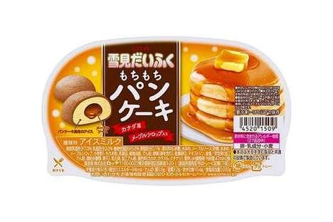 Pancake Mochi Ice Creams