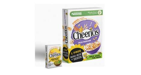 Seed-Offering Cereal Campaigns