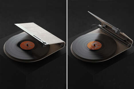 Geometric Linear-Tracking Turntables