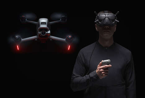 Immersive Headset-Paired Drones