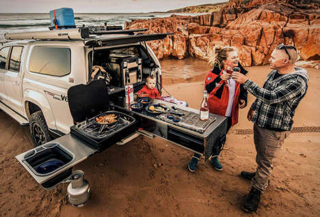 Automotive Camping Kitchens
