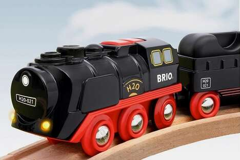 Steam-Emitting Train Toys