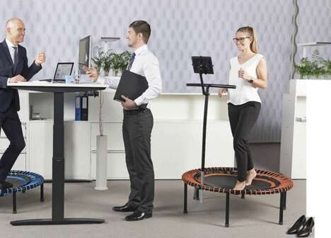Dynamic Trampoline Desks