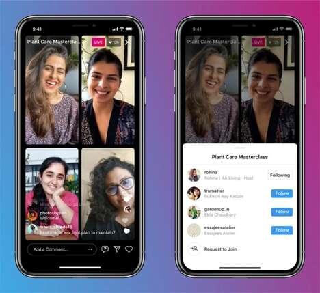 Multi-Person Social Media Features