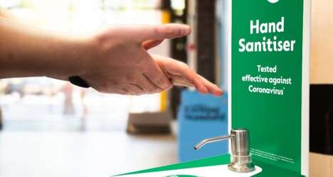 Complimentary Retail Sanitizer Stations
