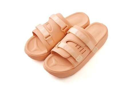 Blush Tonal Comfortable Sandals