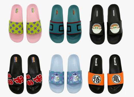 Pop Culture Sandal Designs