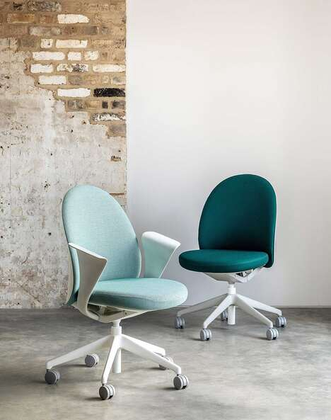 Sculptural Task Chairs