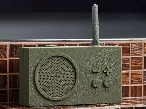 Retro-Inspired Portable Radios