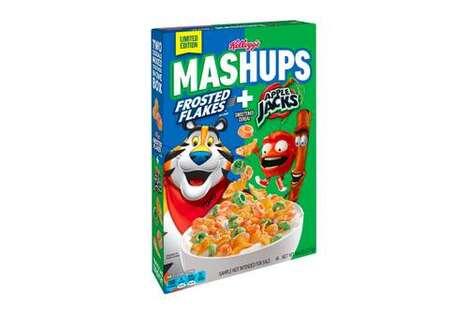 Nostalgic Mash-Up Cereals