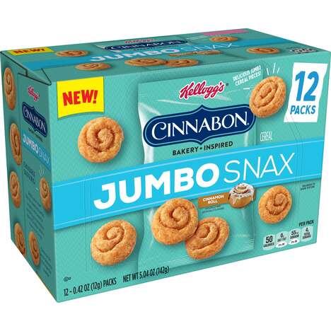 Supersized Cinnamon Snacks