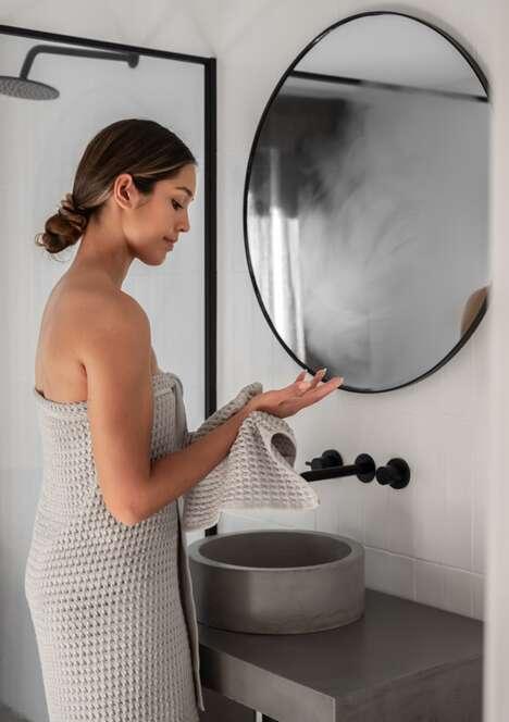 Antibacterial Metal-Infused Towels
