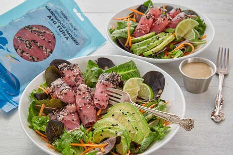 Sesame-Crusted Tuna Packets