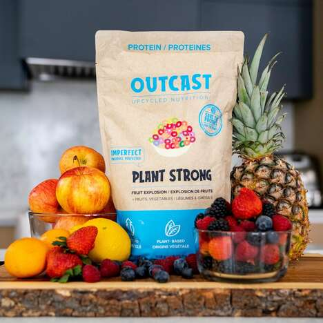 Upcycled Fruit Protein Powders