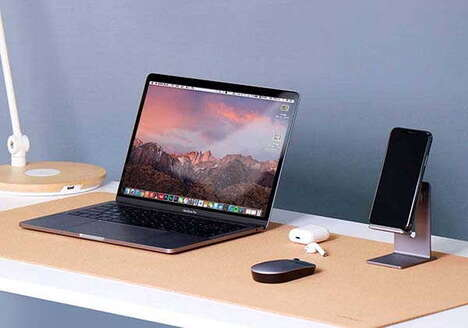 Multi-Layered Structure Desk Pads
