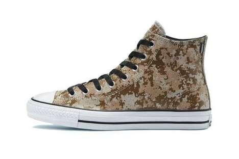 Digi Camo Canvas Footwear