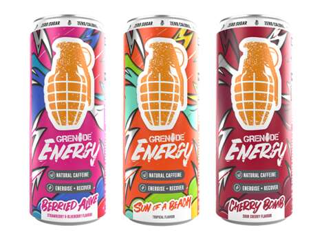 Functional Performance Energy Drinks