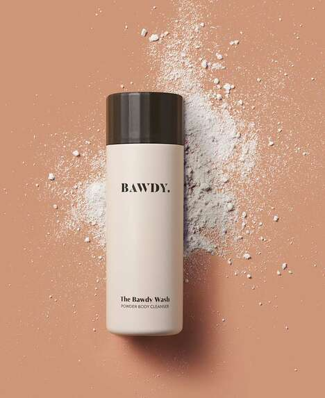 Powdered Body Washes
