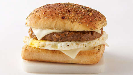Vegetarian Breakfast Sandwiches