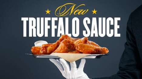 White Truffle Wing Sauces